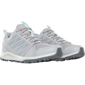 The North Face Litewave Fastpack II GTX Chaussures Femme, meldgrey/stratosphere blue